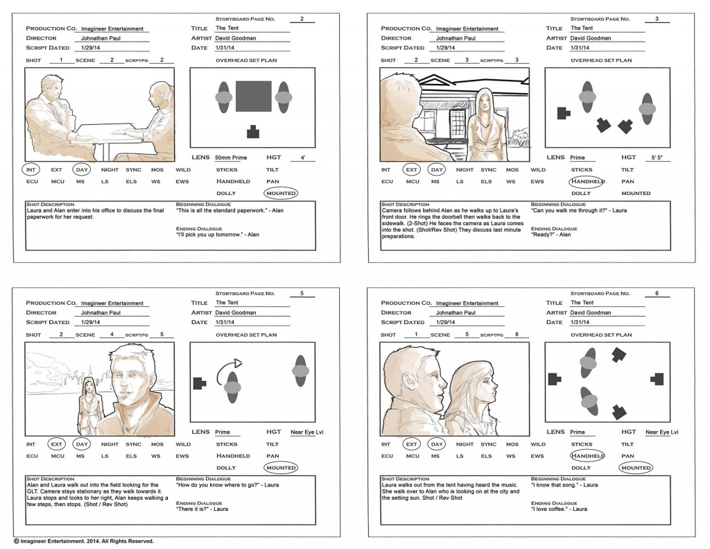 Storyboarding Your Film Tips For Your Next Project