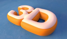 Cinema 4D Video Tutorial: Inflated Text