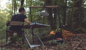 Two Artists Use Projection Mapping to Make a Forest Come Alive