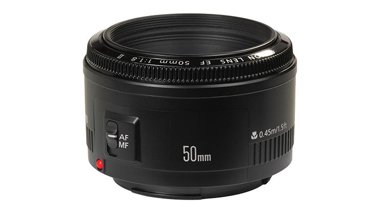 Canon 50mm F/1.8 II