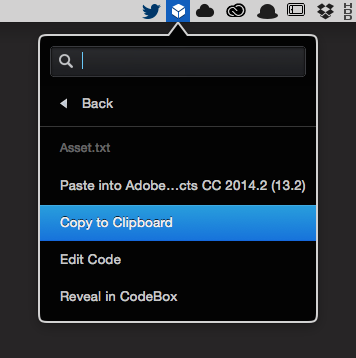 After Effects Expressions: CodeBox Clipboard