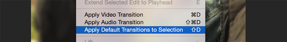 how to use transitions on premiere