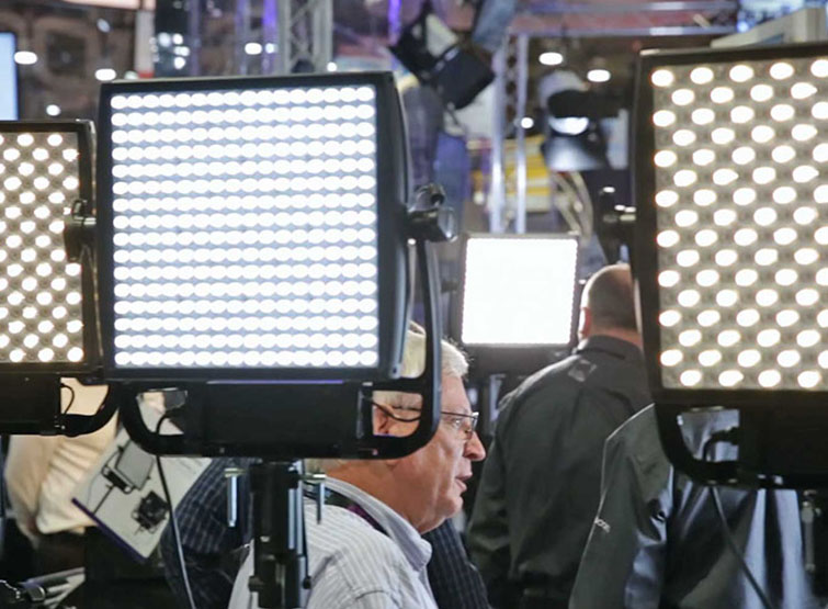 Filmmaking Tips: LEDs on display at NAB 2015