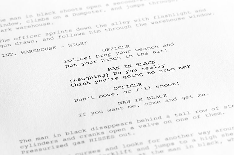 adapt script Learn the techniques for adapting a book into a screenplay.
