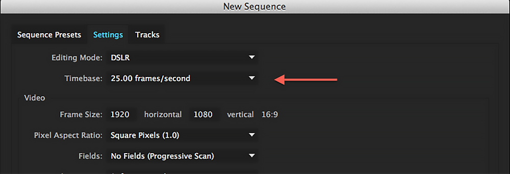 How to Set Sequence Start Timecode in Premiere