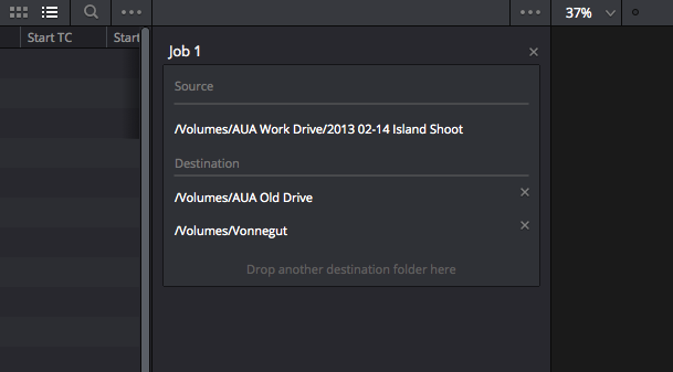 DaVinci Resolve's New Clone Tool: multiple destinations