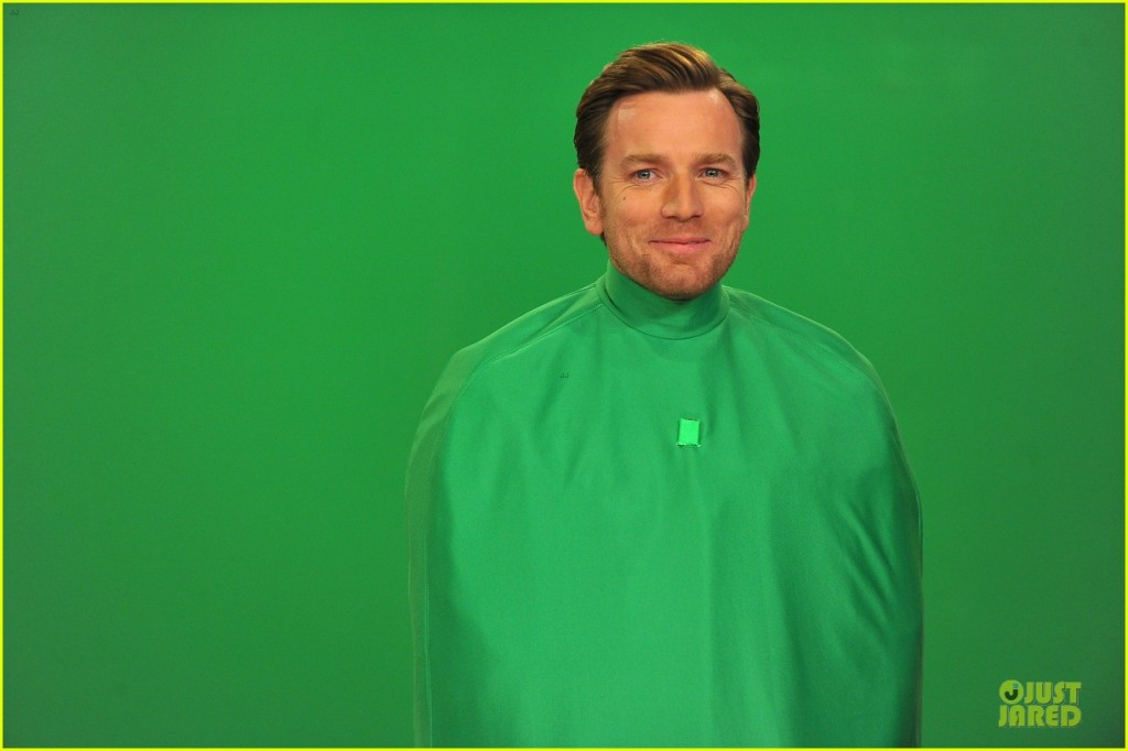 Ewan McGregor Green Screen