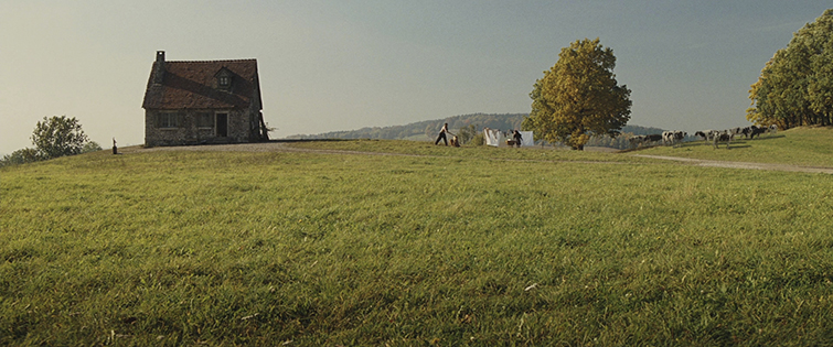 Cinematography: Inglourious Basterds Extreme Wide Shot