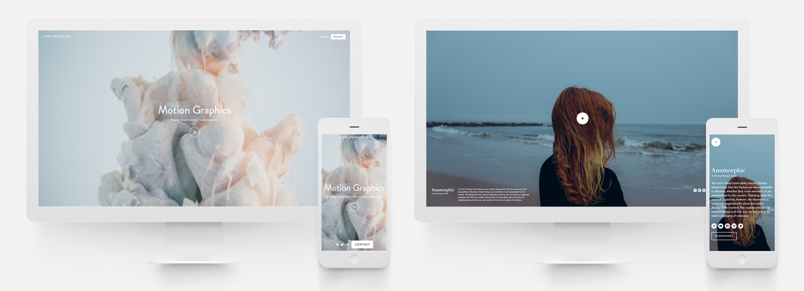 The best services for creating an online video portfolio for Squarespace portfolio templates