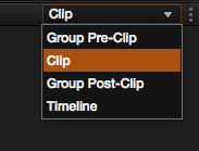 Grouping and Timeline Filtering in Resolve: Node Tree Options