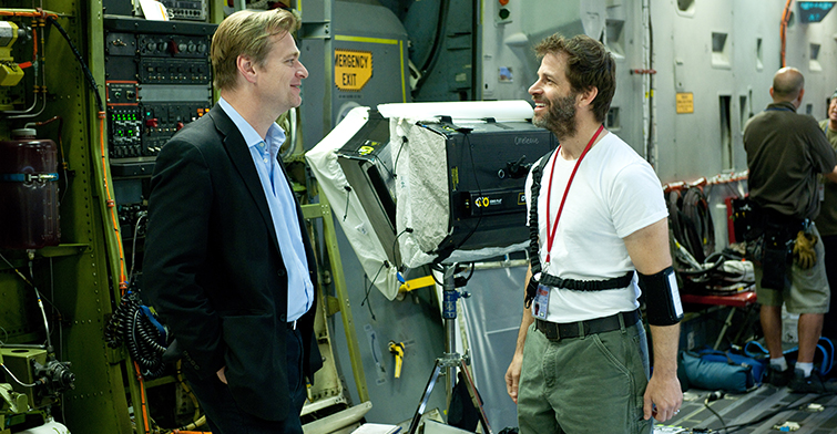 5 Films That Influenced Christopher Nolan: Nolan on set