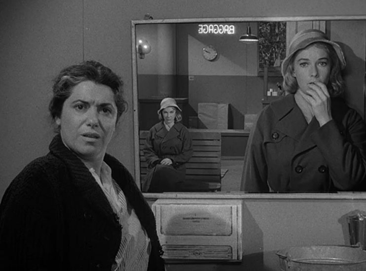 Frame within a Frame: Twilight Zone Mirror Image