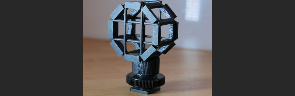 20 Pieces of Film Gear You Can Print With a 3D Printer: Boom Shock Absorber