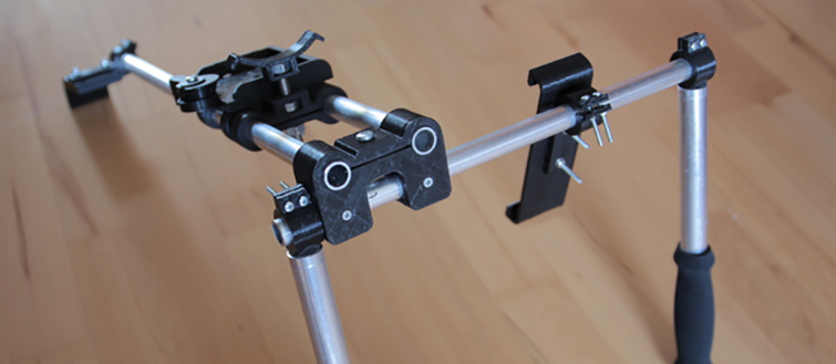 20 Pieces of Film Gear You Can Print With a 3D Printer: DSLR Rig