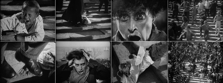 Gutter Editing and the Uninflected Shot: Eisenstein Sequence