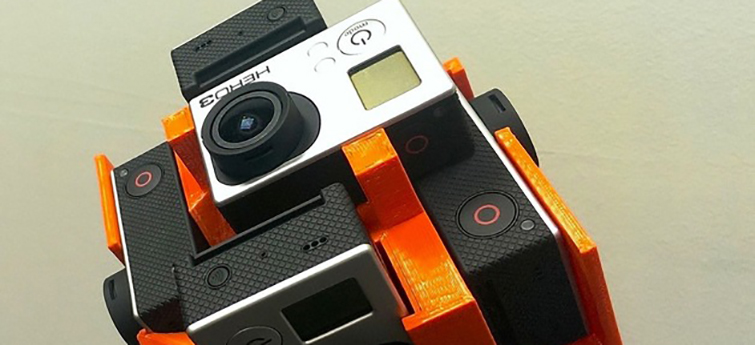 20 Pieces of Film Gear You Can Print With a 3D Printer: 360 VR Rig