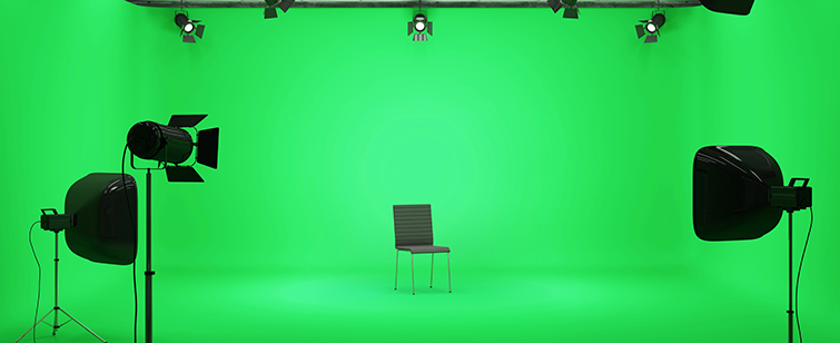 Green Screen Layout