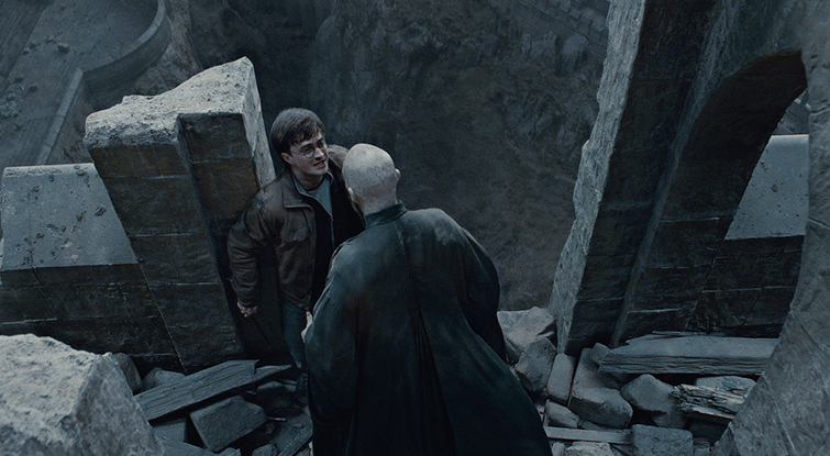 How to Frame a High-Angle Shot Like a Master Cinematographer: Harry Potter