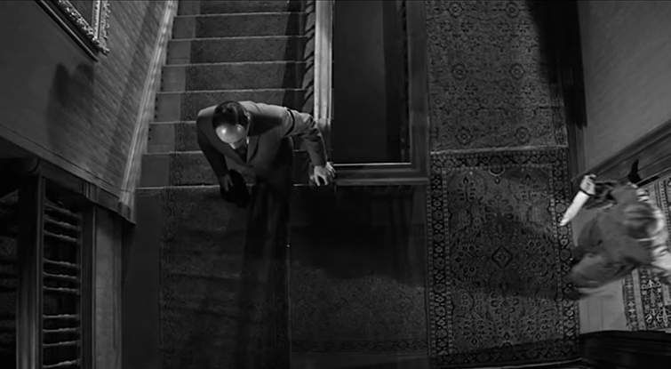 How to Frame a High-Angle Shot Like a Master Cinematographer: Psycho