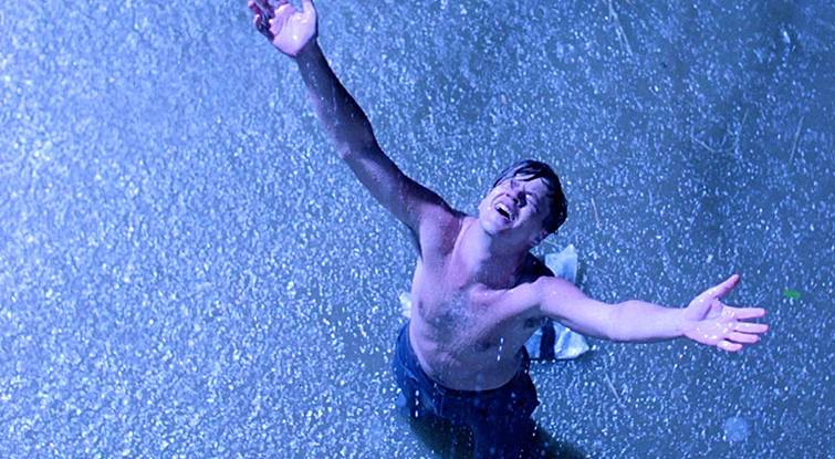 How to Frame a High-Angle Shot Like a Master Cinematographer: Shawshank Redemption