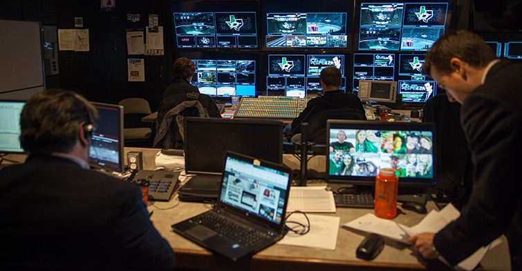 The Media Machine Behind the Dallas Stars: Control Room