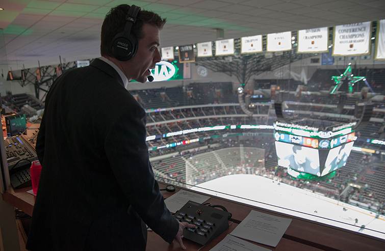 The Media Machine Behind the Dallas Stars: Jason Danby