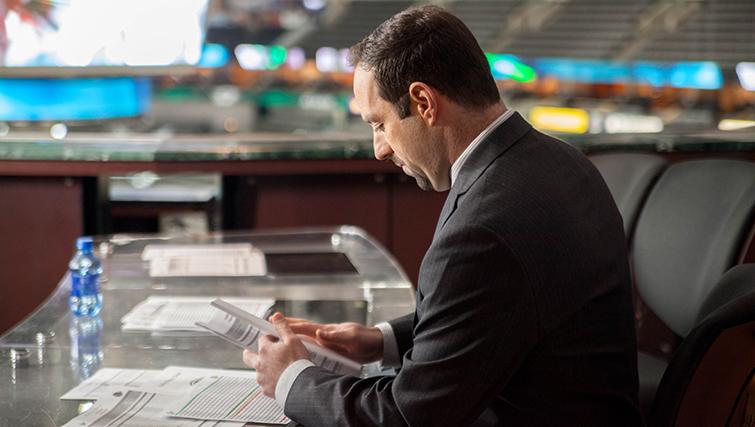 The Media Machine Behind the Dallas Stars: Josh Bogorad
