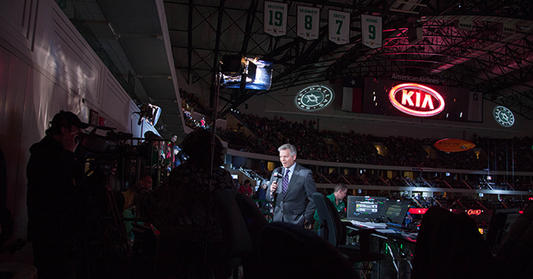 The Media Machine Behind the Dallas Stars: WGN