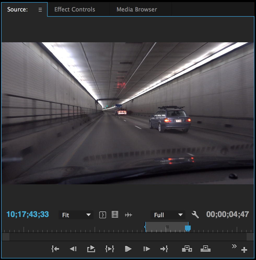 Different Ways to Move Video Onto Your Premiere Pro Timeline: Source Monitor