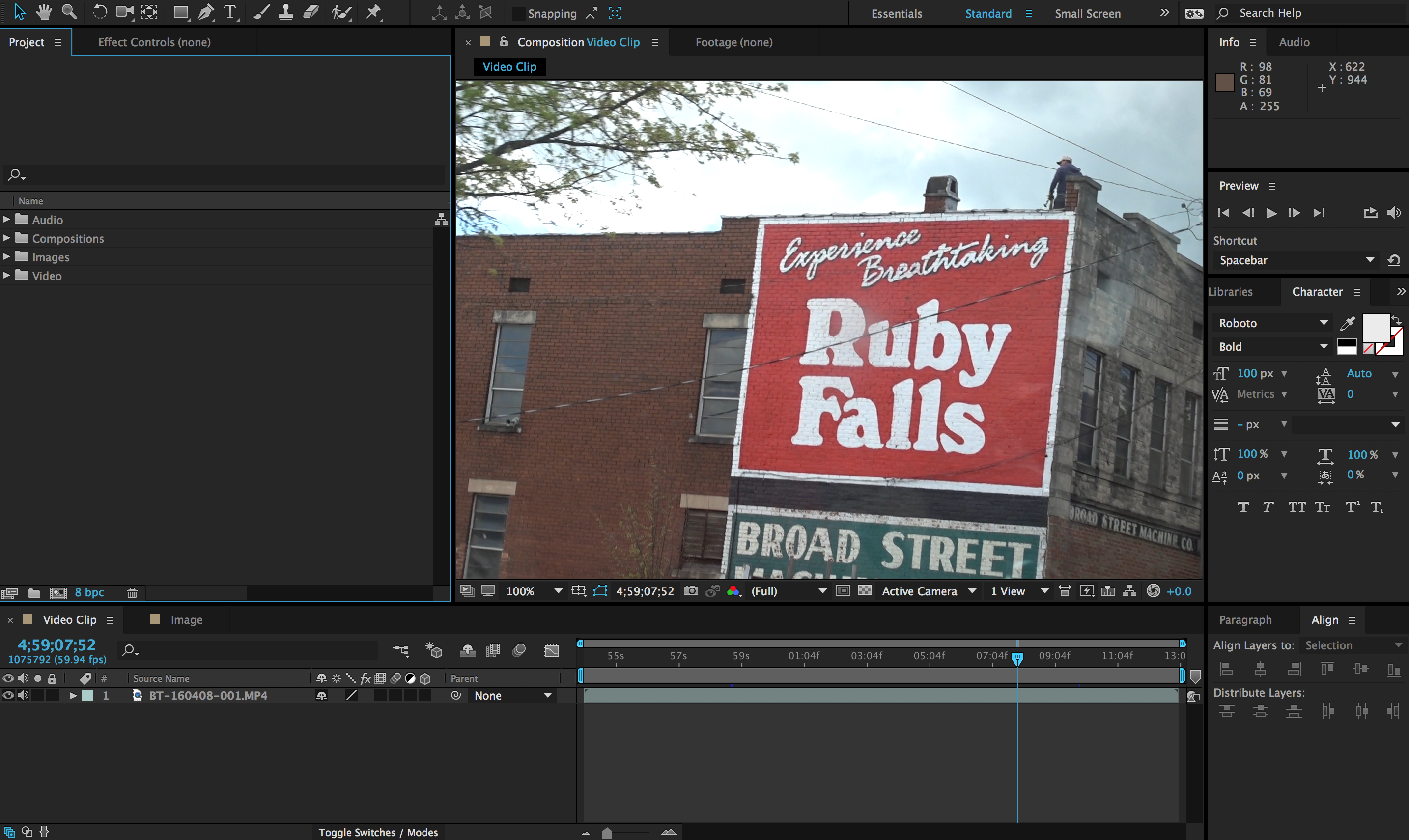 Different Ways to Move Video Onto Your Premiere Pro Timeline: After Effects