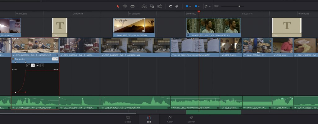 Sick of Premiere Pro? Try Editing in DaVinci Resolve - DaVinci Resolve Timeline