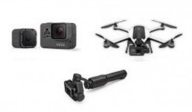 GoPro Leaks Images of Karma Drone, Hero5, and Stabilizer