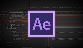 After Effects Video Tutorial: Rotating Squares + Expression