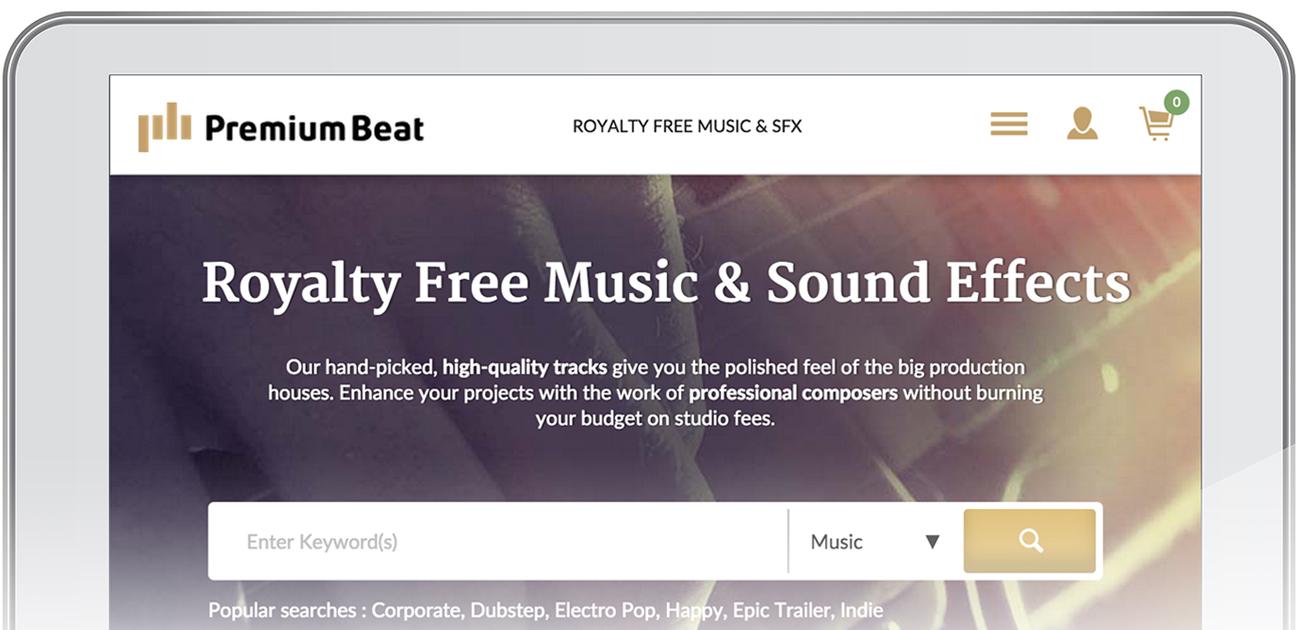 PremiumBeat Mobile