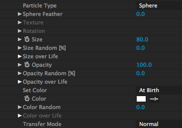 Base Particle Settings 1