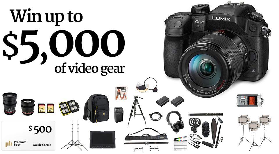Filmmaker's Dream Giveaway
