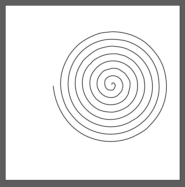 Cropped Spiral