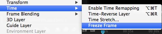 Freeze rame