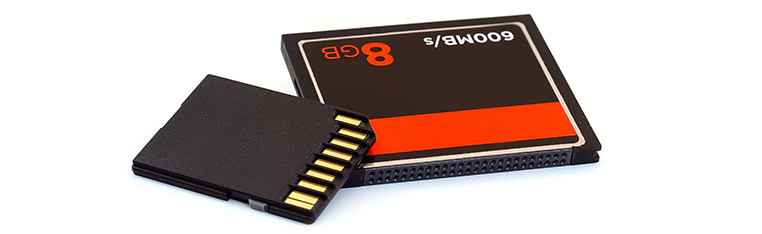 CF and SD Cards