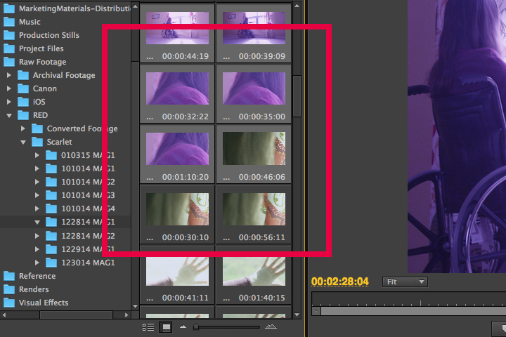 RED to Premiere: Step 3