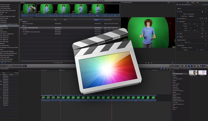 Markers in FCPX