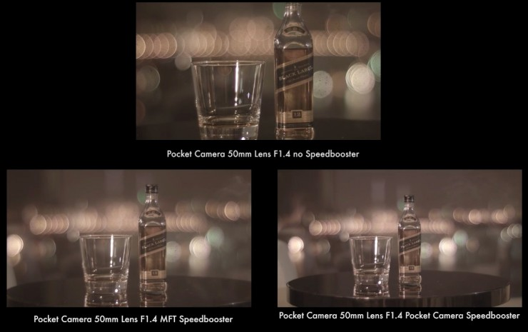 Metabones Speedbooster Example