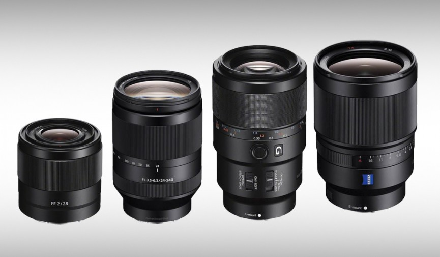 New Sony Lens Cover Image