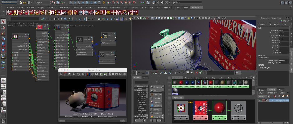 RenderMan Snapshot