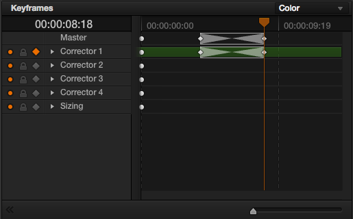 DaVinci Resolve Motion Tracker: Step 4 - Keyframe Mode