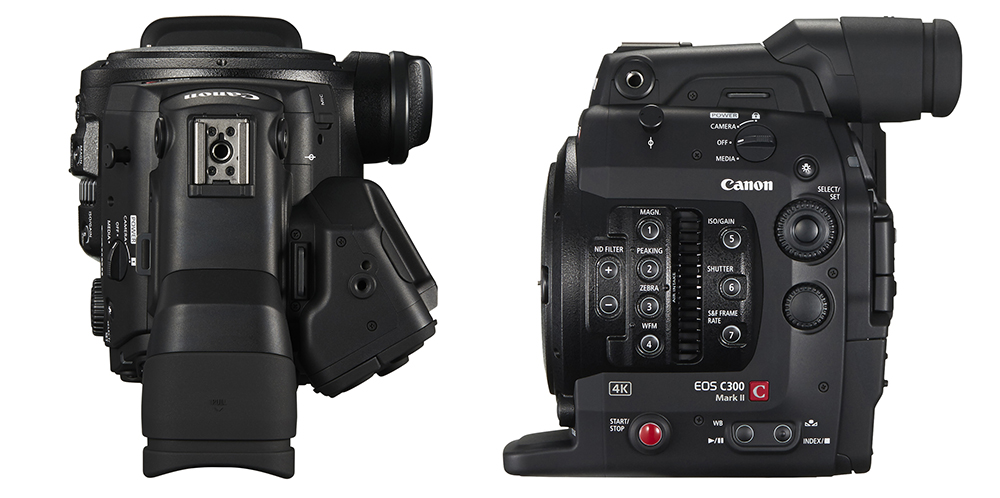 Canon C300 Mark II: Up Close