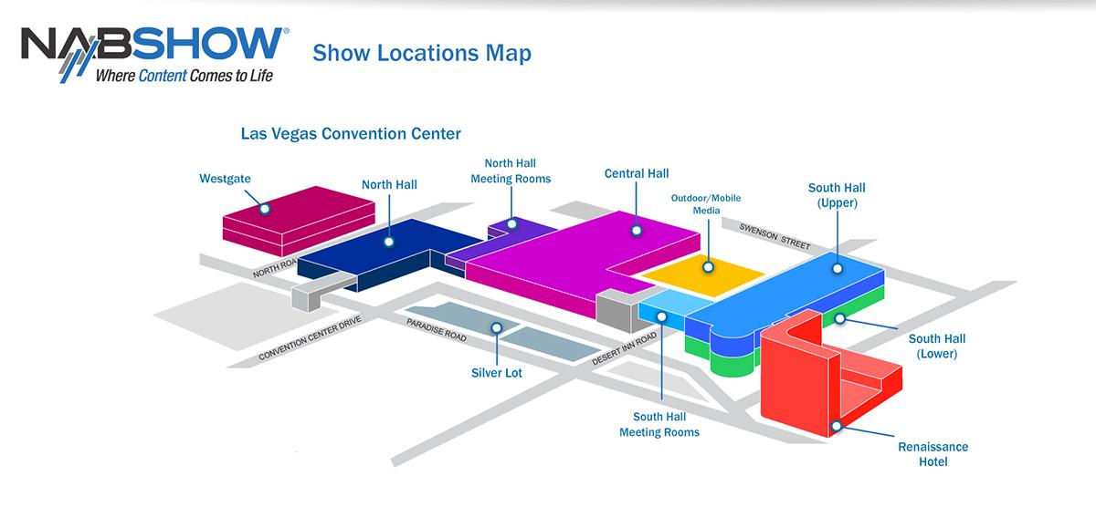 NAB 2015: Show Map