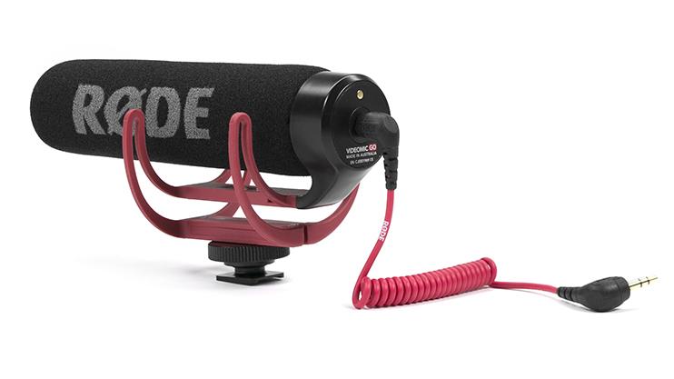 R10 Audio Accessories Under $100: RodeVideoMicGO