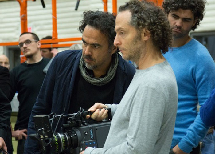 Emmanuel Lubezki, one of the great cinematographers