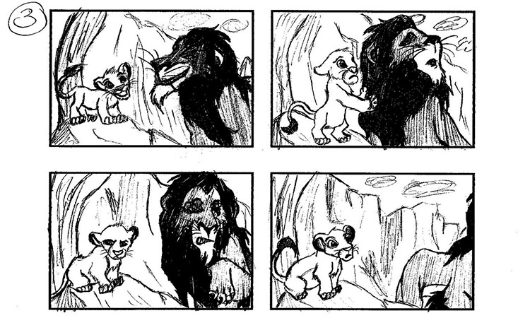 Captivating Storyboarding: Lion King Storyboards